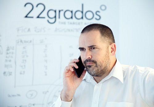 Diego Pajaron de 22 Grados