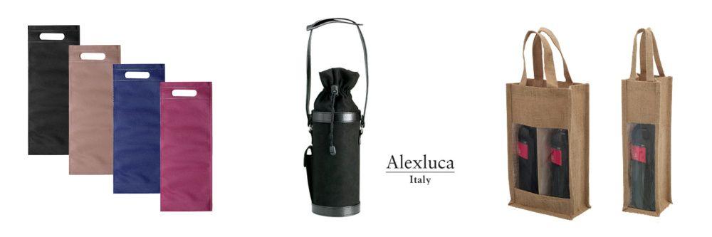 portabotellas y bolsas personalizados para vinos