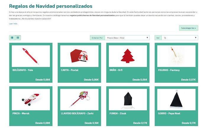 Catalogo regalos publicitarios navidad 2015