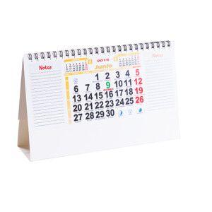 Material de oficina promocional - Calendario de sobremesa Feber - MyM Regalos Promocionales