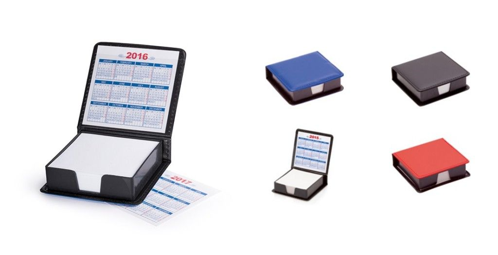 Portanotas personalizados con calendario