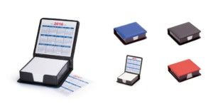 Material promocional de oficina - Portanotas calendario mapel - MyM Regalos Promocionales
