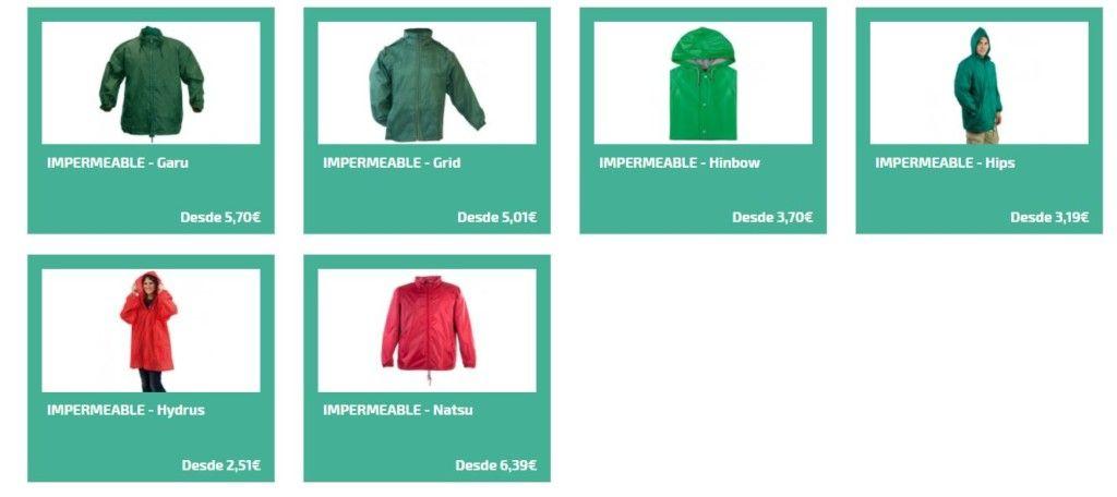 Impermeables personalizados para el invierno