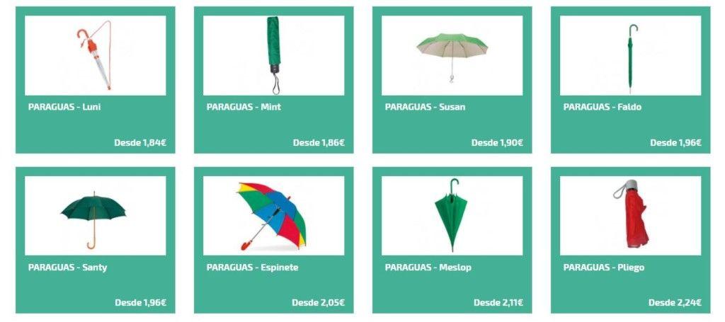 Paraguas personalizados para el invierno