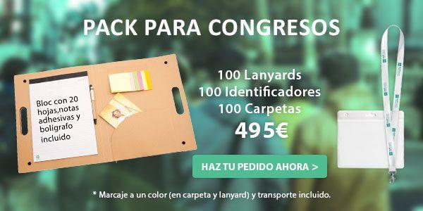 oferta regalos promocionales congresos