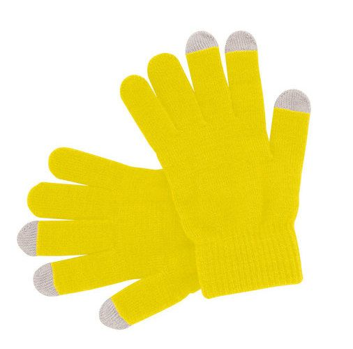 guante tactil personalizado para la nieve