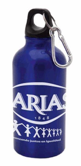 Bidones de agua personalizados para Arias