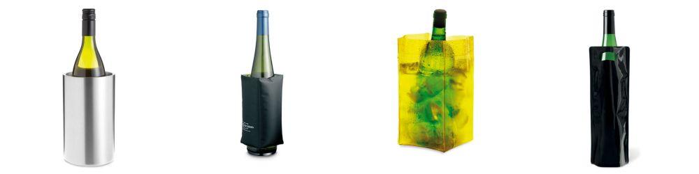 enfriador personalizados y cubiteras personalizadas para el vino