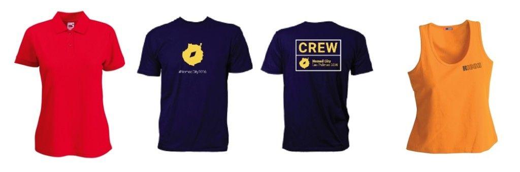 camisetas personalizadas para regalos publicitarios