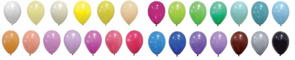Globos de colores personalizados