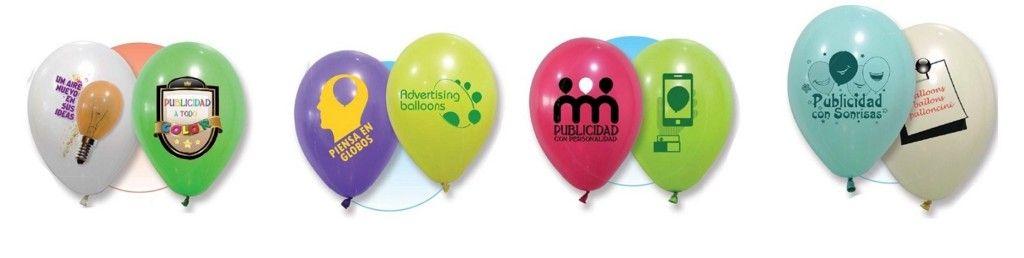 Globos personalizados para regalos publicitarios