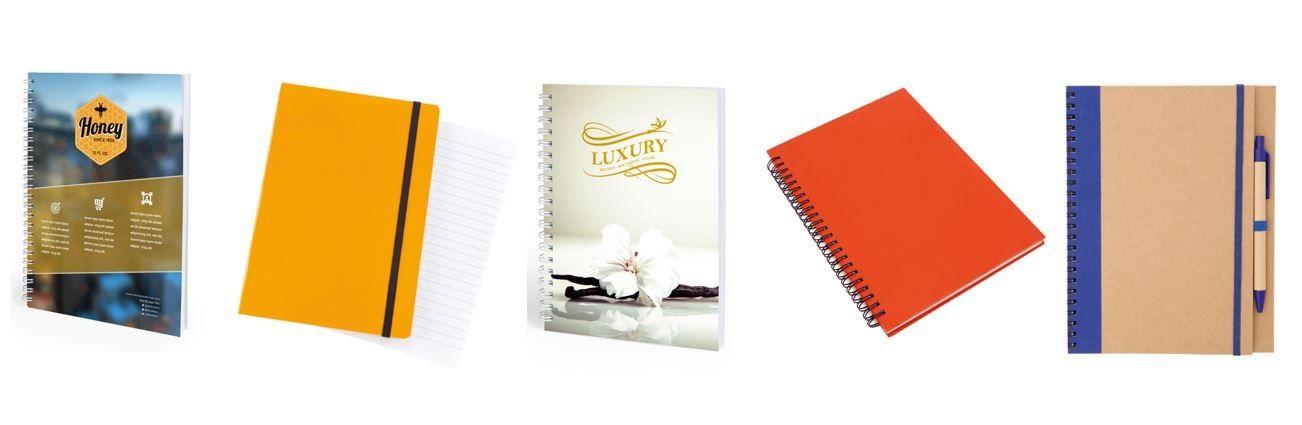 Libretas personalizadas para regalos de empresa