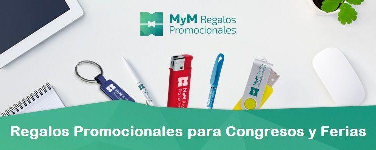 Regalos promocionales para congresos y ferias