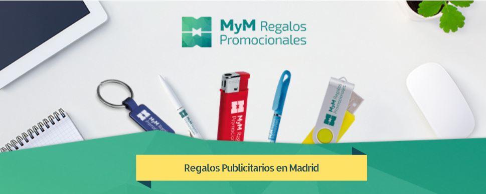 Regalos publicitarios en Madrid