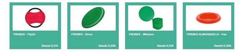 Frisbee personalizados