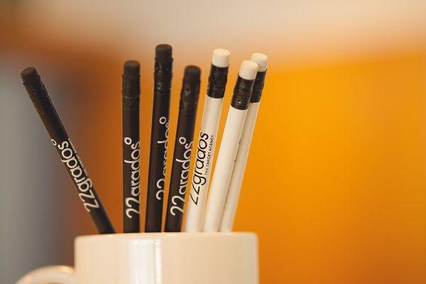 Lápices personalizados para 22Grados