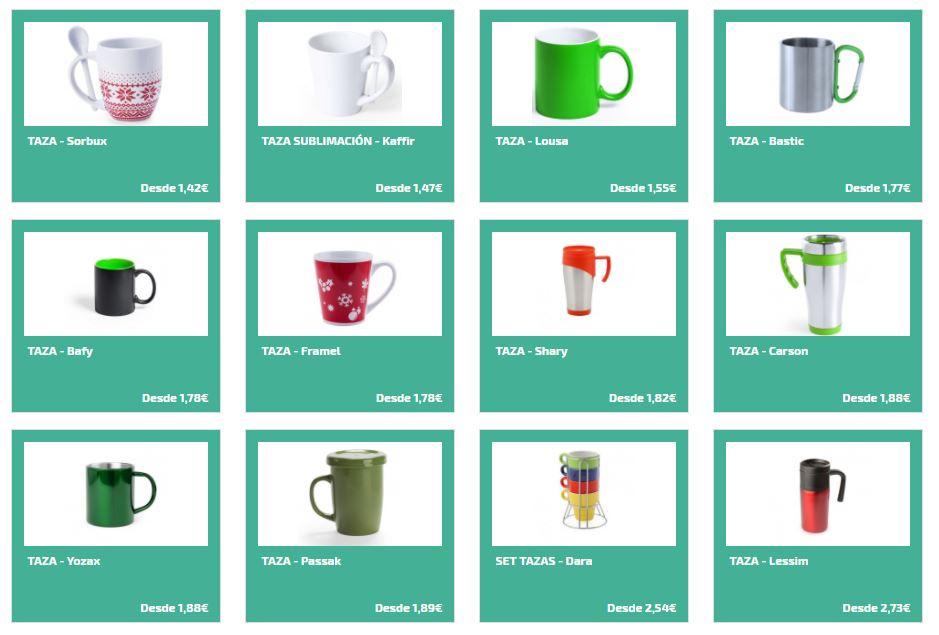 Regalar tazas personalizadas como regalos de empresa