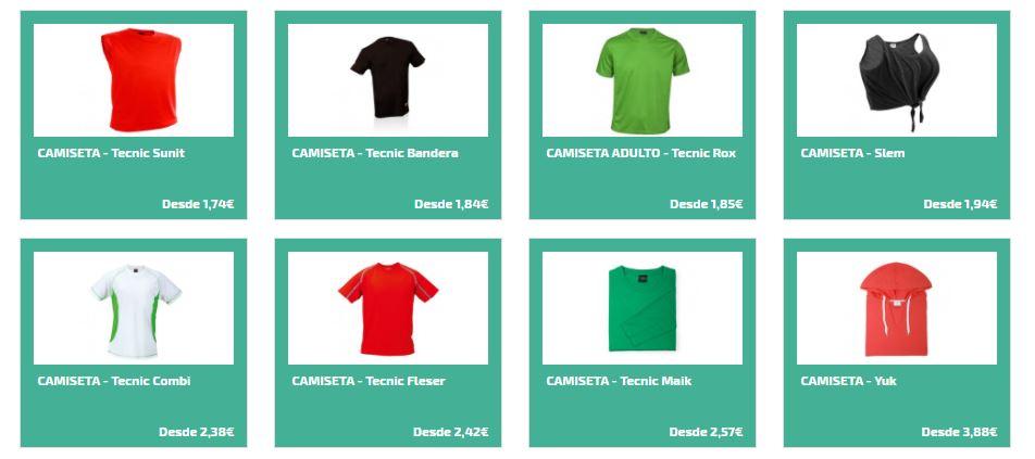 Camisetas de corredor para carreras populares