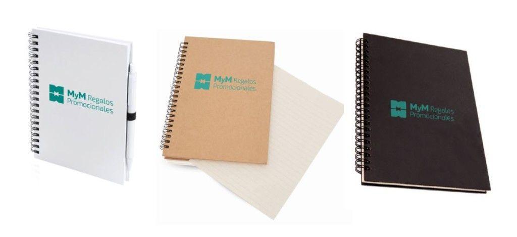 Libretas personalizadas MyM Regalos Promocionales