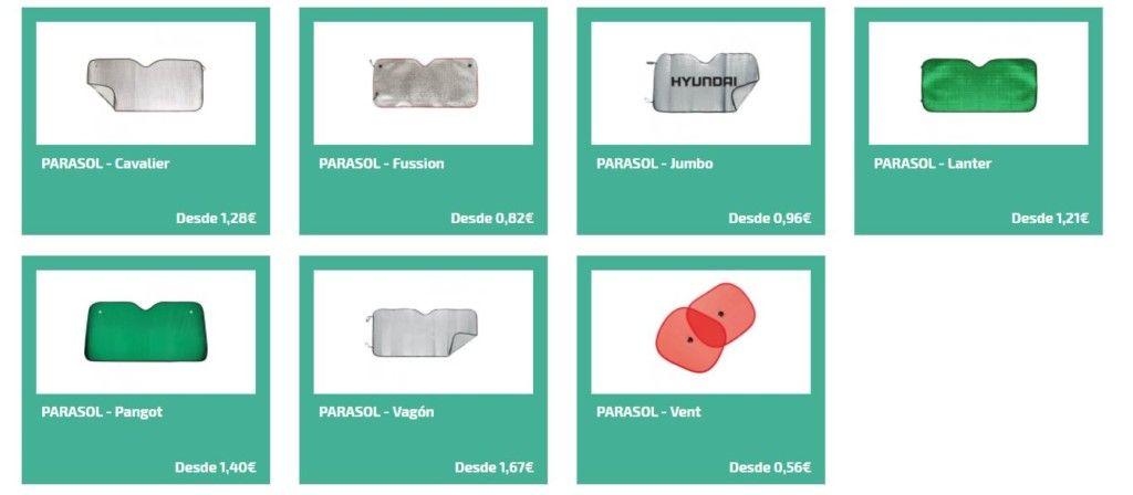 Parasoles personalizados para regalar en gasolineras