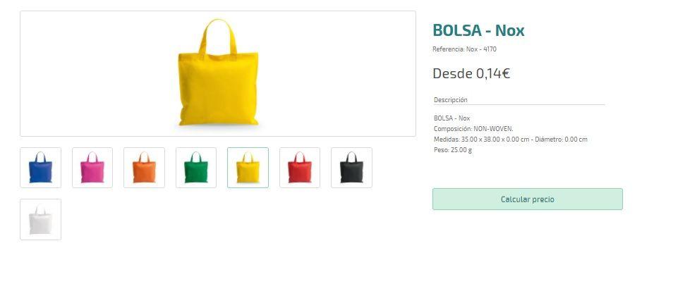 Bolsas personalizadas baratas para regalos