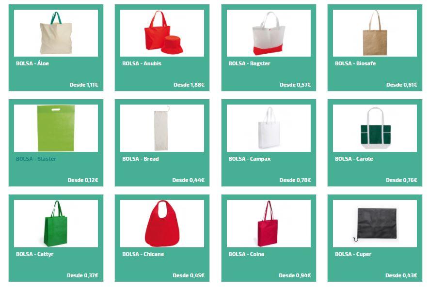 Bolsas personalizadas para regalos publicitarios