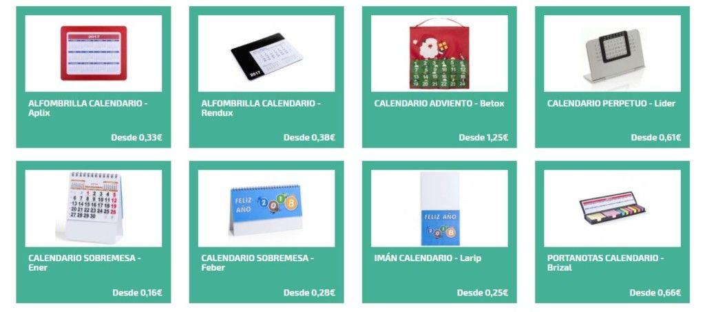 Calendarios personalizados para regalos de empresa