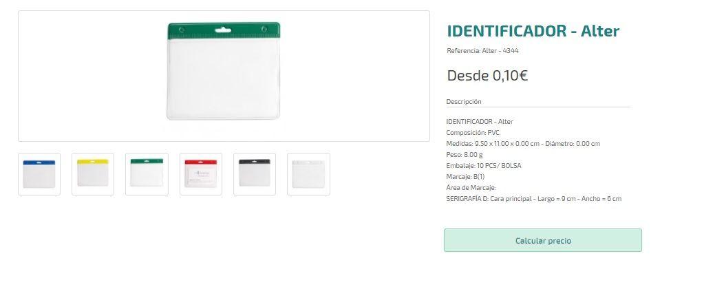 Identificadores personalizados