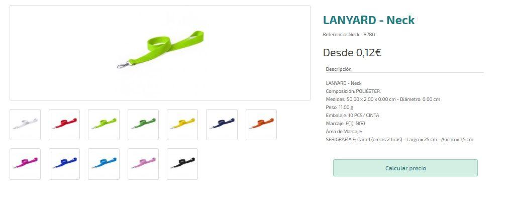 Lanyards personalizados baratos