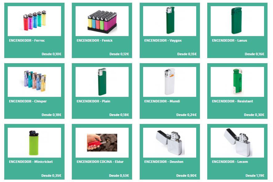 Mecheros personalizados para regalos publicitarios