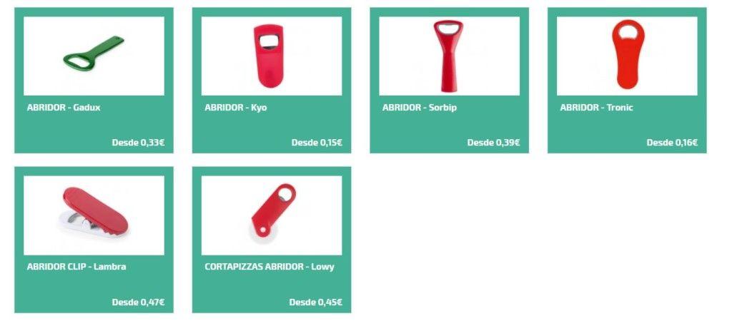 Abridores personalizados como regalos para empresas