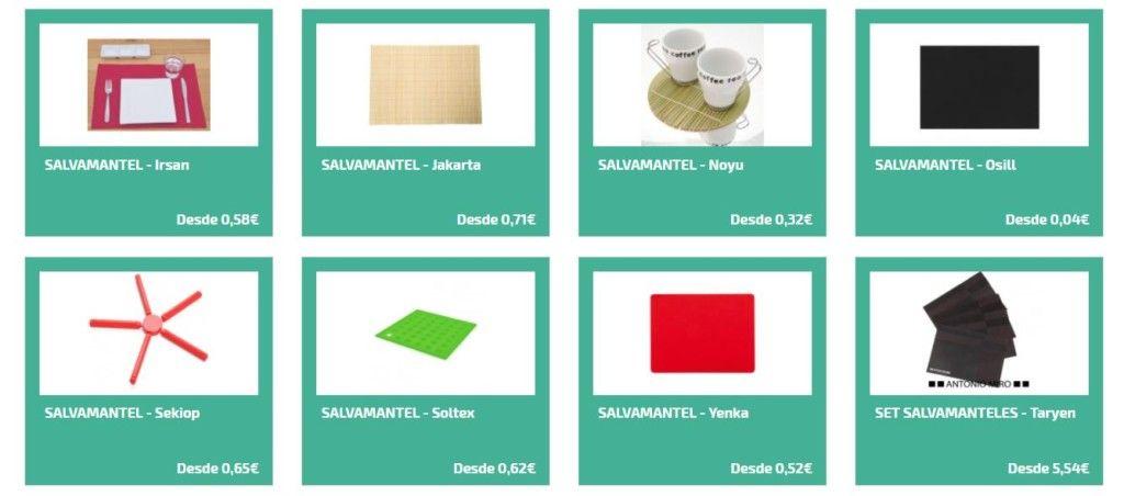 Regalos promocionales para la cocina - Salvamanteles personalizados