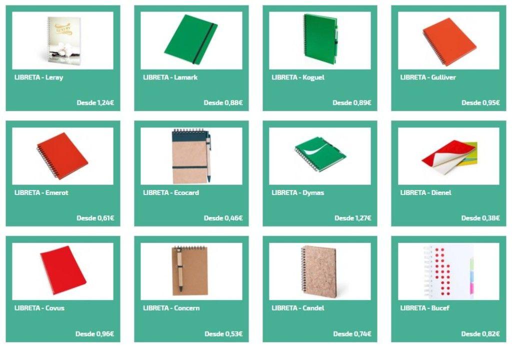 Libretas personalizadas para tus regalos de empresa