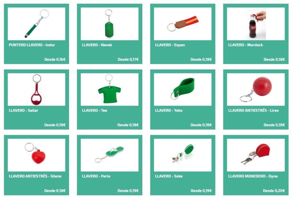 Llaveros personalizados para merchandising para equipos deportivos