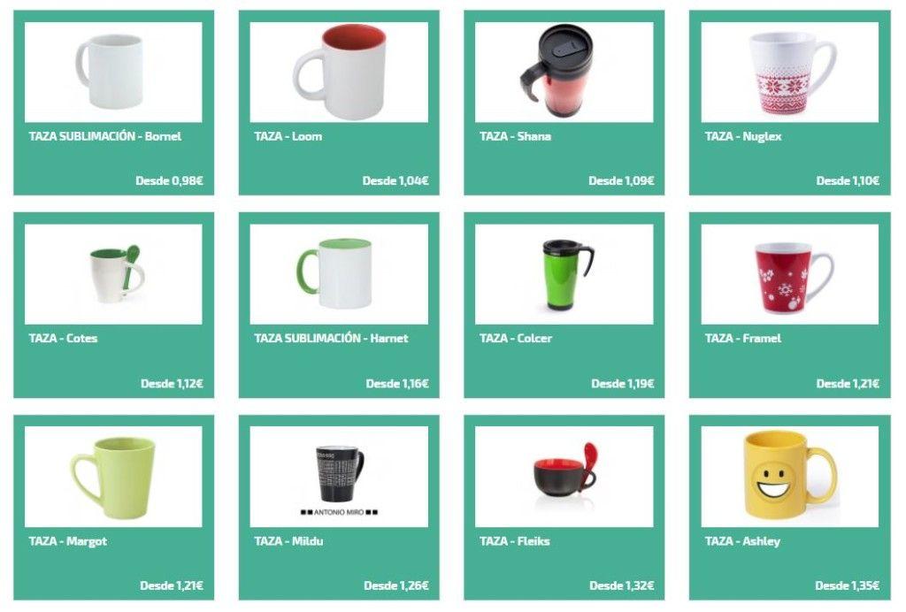 Tazas personalizadas para regalos de empresa