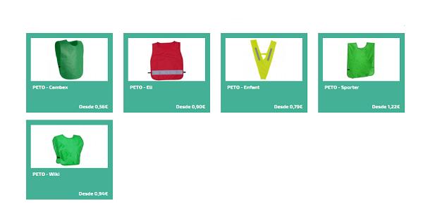 Más regalos deportivos personalizados - Petos personalizados