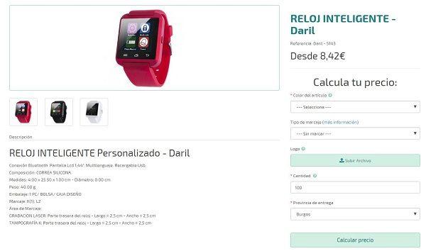 relojes inteligentes personalizados