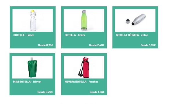 botellas personalizadas para deporte