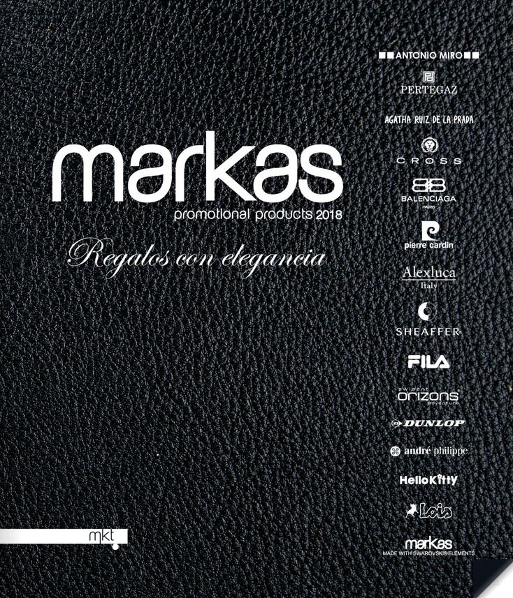 Catalogo de markas - Regalos de empresa