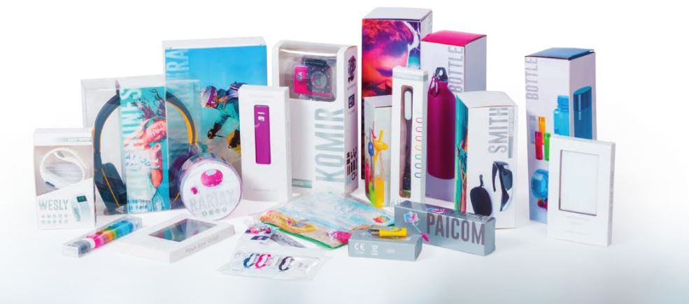 Packaging regalos publicitarios