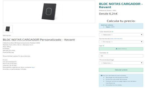 Libretas personalizas y blocs de notas