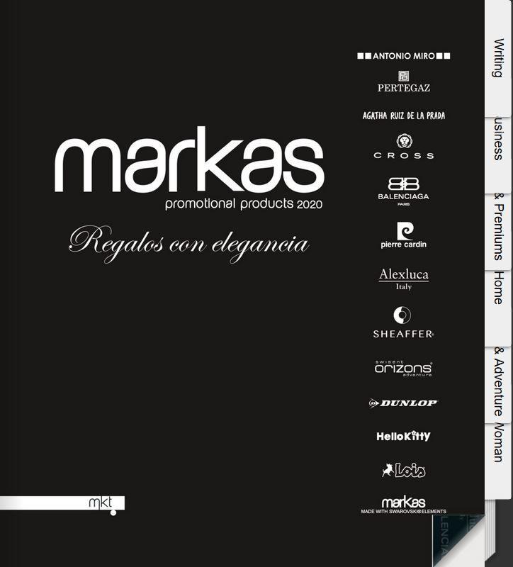 Catalogo marcas regalos publicitarios
