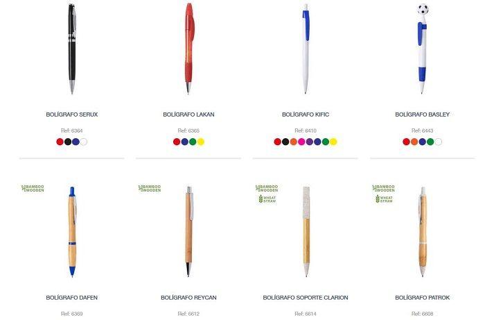 Novedades bolígrafos personalizados 2020