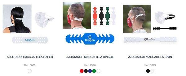 Ajustadores personalizados para mascarillas