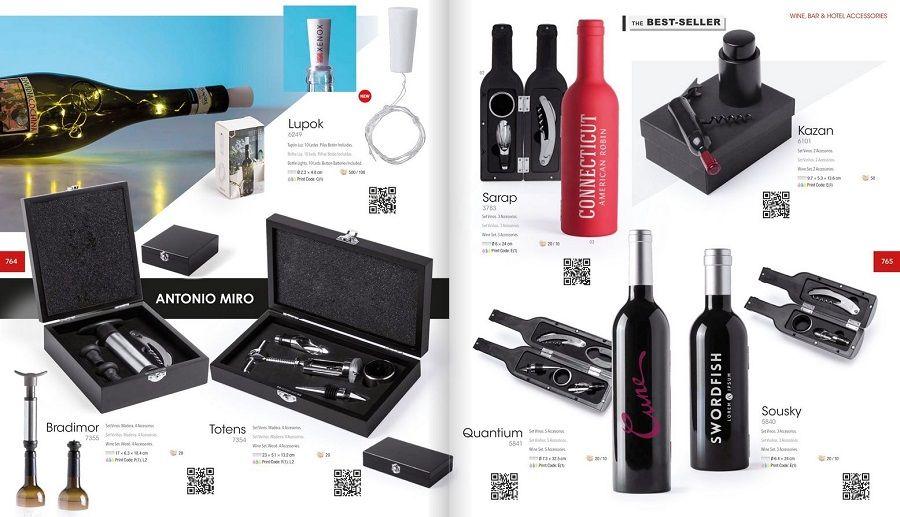 Accesorios para vino personalizados