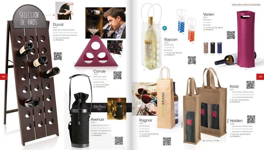 Bolsas y portabotellas personalizados