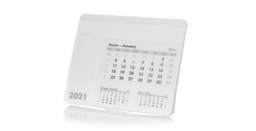alfombrilla raton con calendario