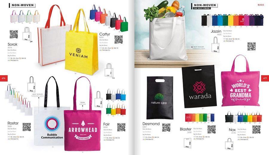 Bolsas serigrafiadas para publicidad