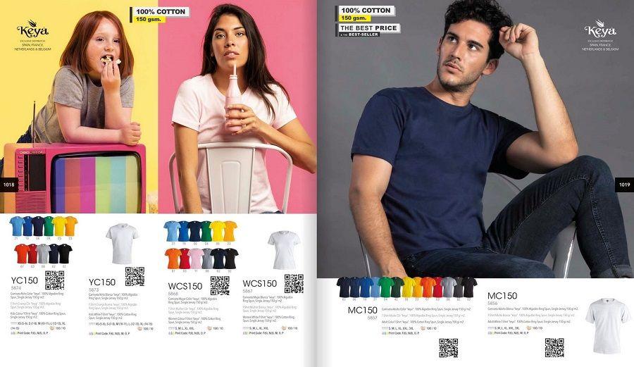 camisetas de algodón personalizadas