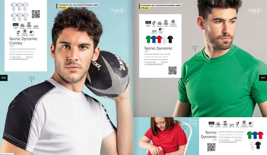 Camisetas técnicas personalizadas